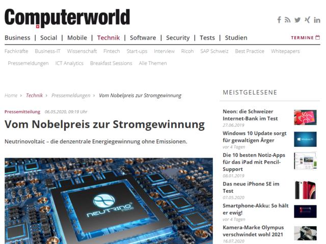 neutrino-computerworld
