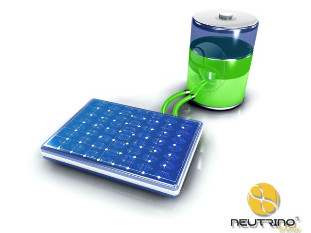 Solar photovoltaic battery green charger