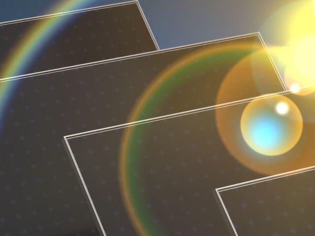 solaranlage 3d digital panel blau
